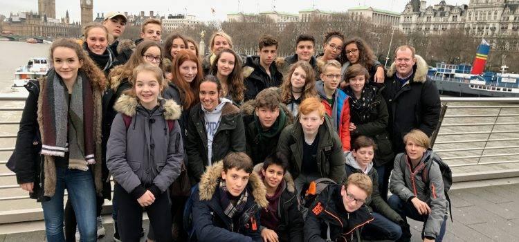 Gruppe in London