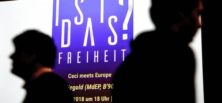 """Ist das Freiheit? – """"Ceci meets Europe"""" am 13.2.2018"""