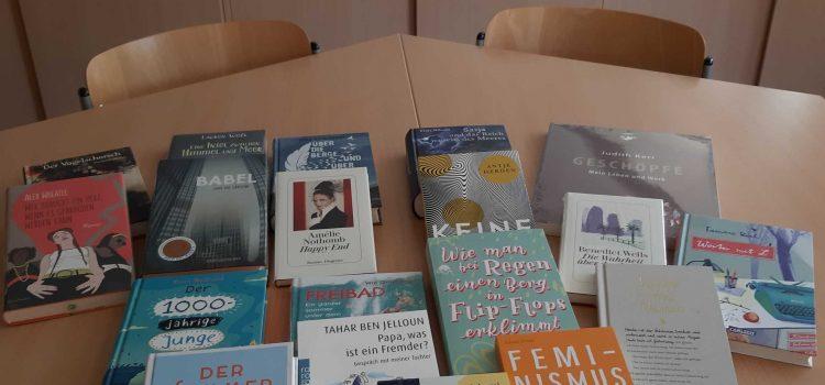 Neue Bücher für unser Selbstlernzentrum!