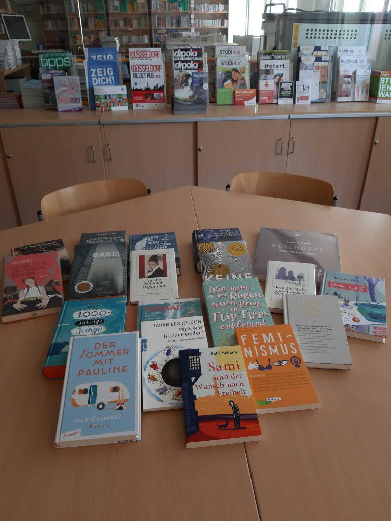 Foto der neuen Bücher