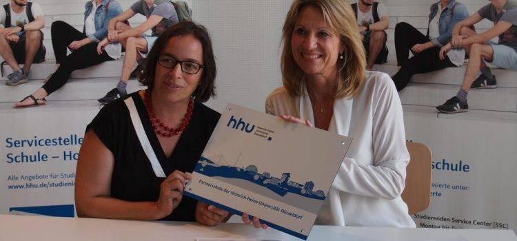 Offizielle Partnerschaft mit der Heinrich-Heine-Universität Düsseldorf