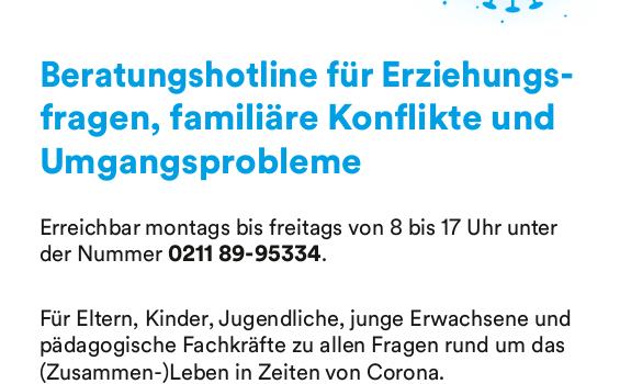 Düsseldorfer Beratungshotline