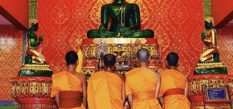 Eine Begegnung mit einem Buddhisten