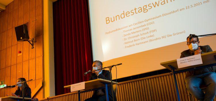 Podiumsdiskussion vor der Bundestagswahl